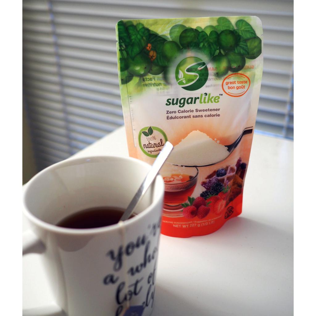 image of SugarLike with coffee cup