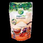 an image showing sugarlike sweetener encapsulated with monk fruit